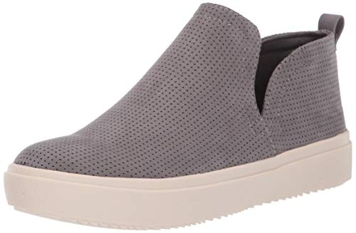 Dr. Scholl's Shoes Women's WANDERATE Sneaker, Dark Shadow Grey Microfiber Perforated, 11 M US