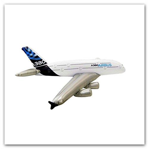 Airbus A380-800 zum Aufblasen -  House Colour  - Spannweite ca. 140cm, Länge ca. 115cm