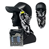 CoolNES UV Face Mask or Neck Sun Shield UPF 50+ Multifunctional Headwear Patent