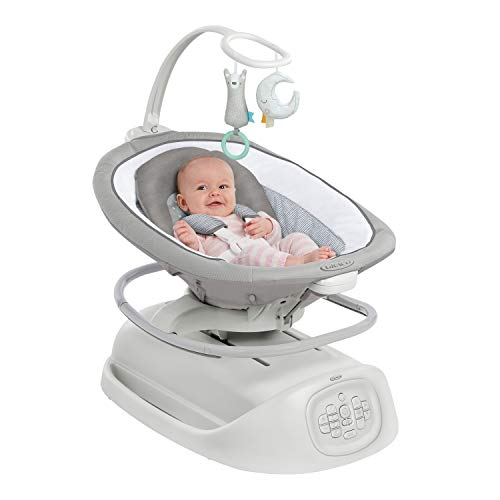 41QSdSYPDrL The Best Battery Operated Baby Swings in 2021 Reviews