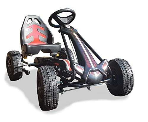 E&L Cycles Go-Kart Volare Racing Car Big Tretauto mit Luftreifen