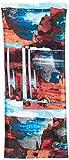 [バフ] 多機能ヘッドウェア ネックカバー 日焼け保護 COOLNET UV+ INSECT SHIELD 防虫 冷却 防臭 UVカット ストレッチ 使い方12通り以上 [日本正規品] 350688:HARQ MULTI EU 22.3×53cm (FREE サイズ)