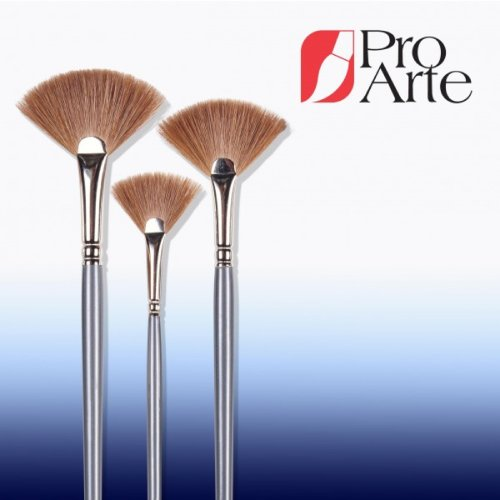 Pro Arte Series 43 Sable Hair Fan Brush Small - Made In England