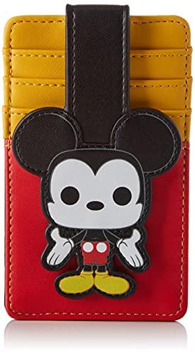 Loungefly Disney Mickey Mouse - Cartera de piel vegana