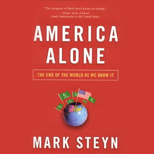 America Alone audiobook cover art