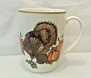 Pottery Barn Heritage Turkey Mug- 12 oz