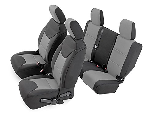 CarsCover Custom Fit Front And Rear Seat Covers