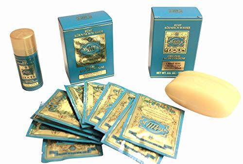 4711 Original Eau de Cologne Gift Set REFRESHING TISSUES + COOL STICK +...