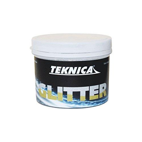 GLITTER color ARGENTO per pittura-smalti acrilici all'acqua-flatting PER PARETI-MOBILI 250ml