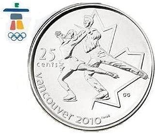 Vancouver 2010 Figure Skating 25-cent Figure Skating Coins Quarter
