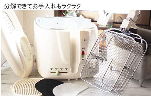 パーツをはずして丸洗いできるものだと、調理後の手間が軽減されます。購入前にどこまで外すことができて、どれを水洗いできるのか、確認しておきましょう。  水洗いできないタイプの電気フライヤーの洗い方は、油を出した後、ペーパータオルなどで中を拭きあげてきれいにする方法が一般的です。  容量が大きいタイプでは、中を拭きあげてお手入れするタイプがほとんどになります。