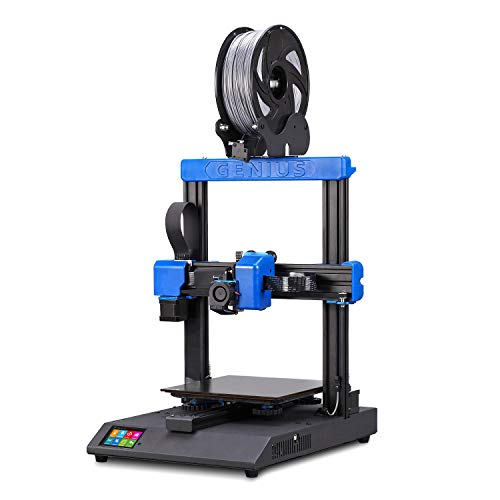 Artillery Genius 3D Printer Ultra-Quiet High-Precision Dual Z-Axis 98% Integrity TFT Screen Filament...