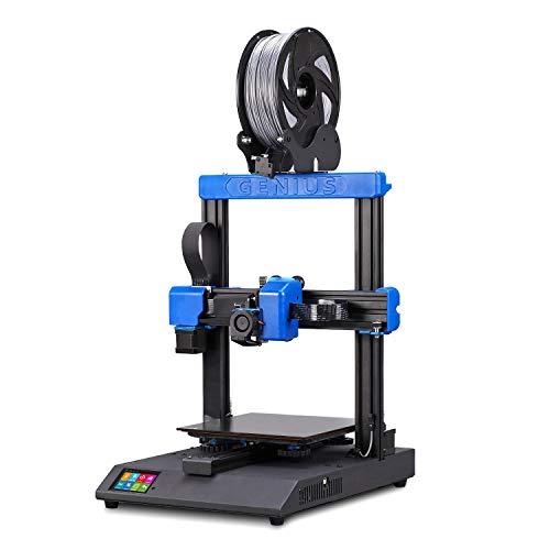 Artillery Genius 3D-Printer I3 2019 - Impresora 3D de alta precisión de sobremesa, doble eje z, pantalla TFT, 98% de integridad
