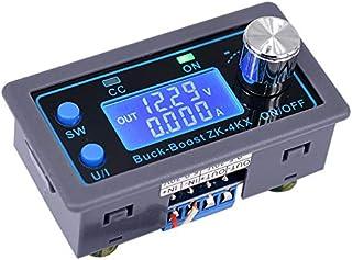 Iycorish ZK-4KX CNC Buck Boost Converter CC CV 0.5-30V 4A Power Module Adjustable Regulated Power Supply for Solar Battery...