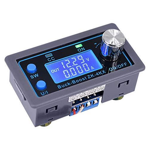 Haudang ZK-4KX CNC Buck Boost CC CV 0,5 – 30 V 4 ON modulo di potenza regolabile, alimentatore regolabile per la ricarica di batterie solari