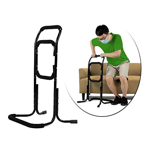 Bed Rails for Elderly Stand Assist Bed Cane for Seniors Chair Assist Devices Lift Assist for Elderly Bed Grab Bar Side Rail Mobility Aids - Recliner Couch Sofa Safe Support