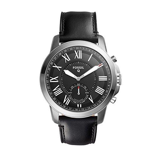 Fossil Herren Analog Quarz Uhr mit Leder Armband FTW1157