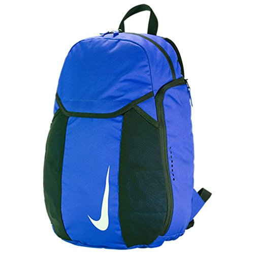 NIKE Unisex_Adult NK ACDMY Team BKPK Daypack, Multicoloured (Game Royal Blue/Black/White), 24x36x45 Centimeters (W x H x L)