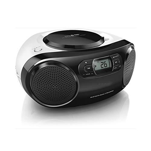 Retro Cassette Tape Recorder, Bluetooth Boombox CD-speler, FM-radio, Speel muziek af van MP3-spelers, smartphones, tablets, enz