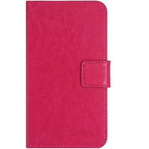 QHTTN Rose Leder Tasche Hülle Für TP-Link Neffos C5S 5
