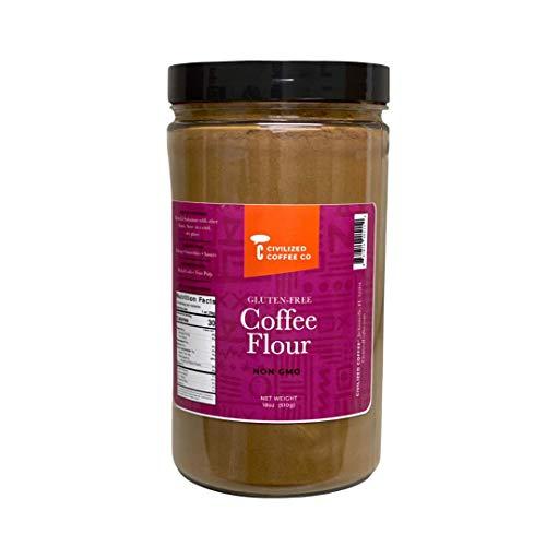 Civilized Coffee Gluten-Free Coffee Flour, Non-Gmo for Baking (18oz)
