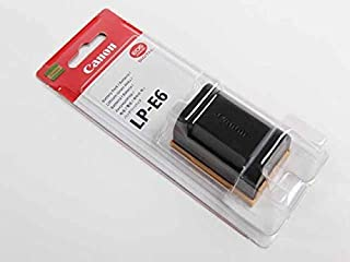 Canon LP-E6 Rechargeable Lithium-Ion Battery Pack (7.2V, 1800mAh)