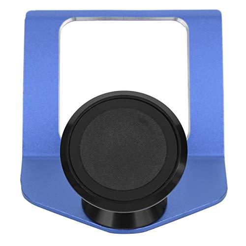 Qqmora Profesional Multifuncional del Tenedor del teléfono del Tenedor del teléfono Mini portátil para el Accesorio automático(Blue)