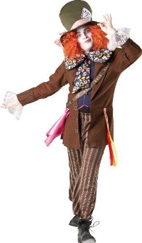 Karneval Herren Kostüm Hutmacher aus Alice im Wunderland Größe M/L