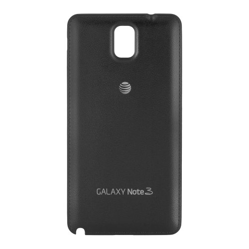 OEM Samsung Battery Door Cover for Galaxy Note 3 AT&T N900A - Black