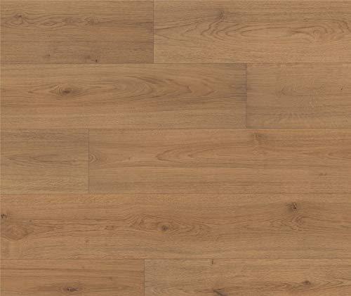 HORI® Laminat Eiche Landhausdiele natur Ambiente Family 1-Stab mit Fase I für 6,41 €/m²