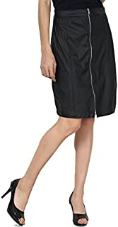 PepTrends Faux Leather Skirt