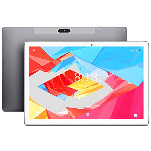 LNMBBS X30 4G LTE Tablet-PC 10-Core 2.6 GHz Android 9.0 Zertifiziert von Google GMS Tablet 6GB RAM, 128GB ROM Tablet 2560 x 1600 Full HD, 8000 mAh, Type-c, Grau