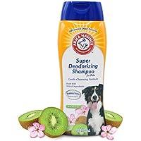 Arm & Hammer Super Deodorizing Shampoo for Dogs, 20 Fl Oz