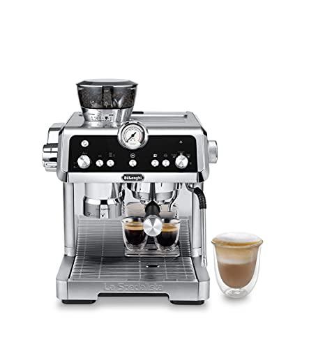 De'Longhi Specialista Prestigio, Máquina de Café Espresso y Cappuccino con Bomba, Máquina de Café en Grano, EC9355.M, Metal