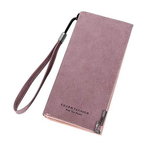 SoonerQuicker Mini Bag Damesmode dames handtassen lange ritssluiting portemonnee kaarthouder portefeuille dode tassen