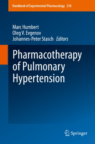 Pharmacotherapy of Pulmonary Hypertension (Handbook of Experimental Pharmacology 218)