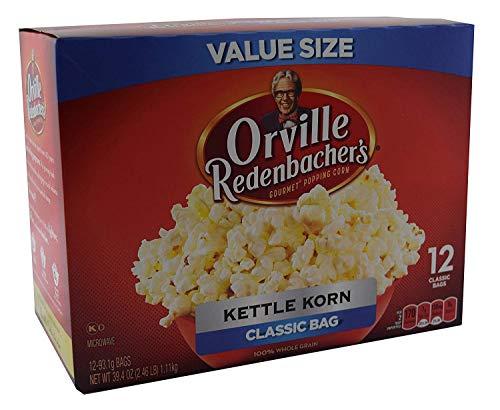 Orville Redenbachers Kettle Korn Classic Bag, 12-Count Box