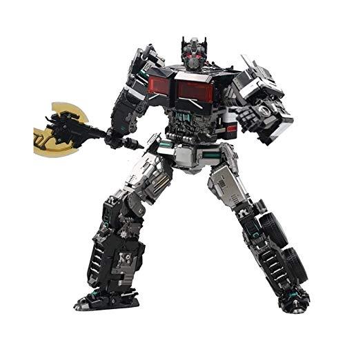JIALI Jinting deformación Juguete King Kong Optimus S-Pilar Aleación ampliada Versión del asedio como Regalo para niños y niñas
