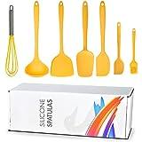Kitchen Cooking Utensils Set, Non-stick Silicone Cooking Kitchen Utensils Spatula Set Heat Resistant Silicone Kitchen Gadgets Utensil