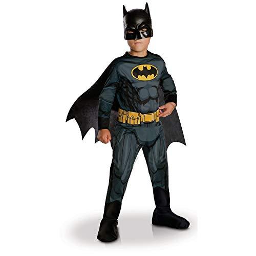Rubie's - Déguisement Officiel - Batman, enfant, I-630856M, Taille M 5 à 6 ans