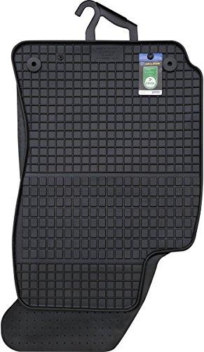 PETEX Gummimatten passend für Passat ab 09/1996-02/2005 Fußmatten schwarz 4-teilig
