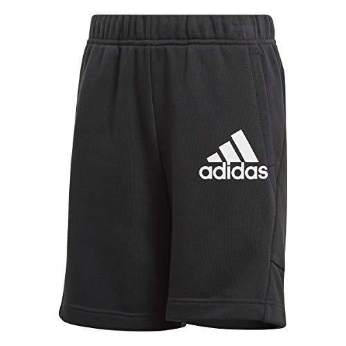 adidas B BOS Short Pantalones Cortos, Black/White, 910A para Niños