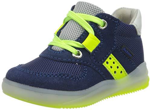Richter Kinderschuhe Jungen Harry Hohe Sneaker, Blau (Nautic/ATL/FLI/N.Y/W 6821), 21 EU