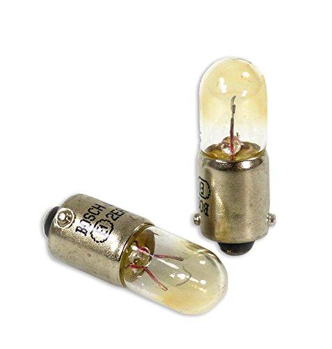 Bosch T4W Pure Light Lámparas para vehículos - 12 V 4 W BA9s - Lámparas x2