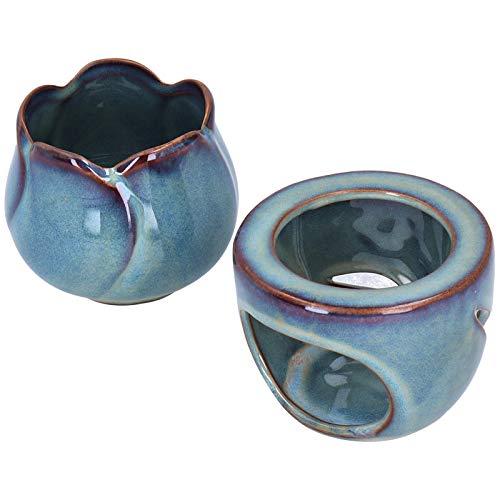 Forno a olio essenziale, forno a combustione di aromi, forno per aromi in ceramica con capacità di 180 ml di facile utilizzo per camera da letto domestica