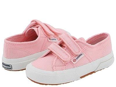 Superga Kids 2750 JVEL Classic (Toddler/Little Kid) (Pink) Girls Shoes
