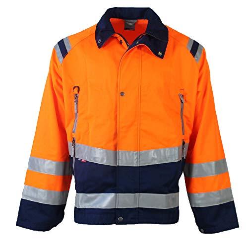 Fristads Kansas 100980 Warnschutz Jacke Kwintet 4829 Orange/Marine, Größe:XXL