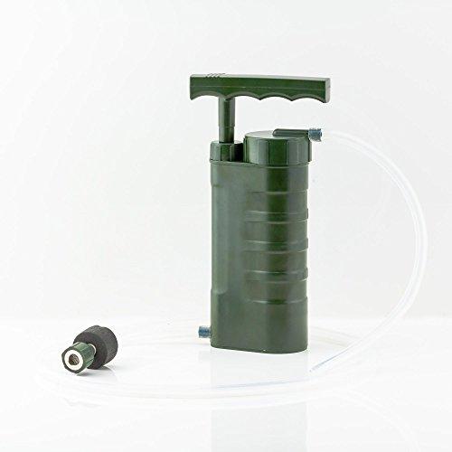 Liebdy Aqua Pury Porti, der leistungsstärkste tragbare Outdoor, Survival und Camping Wasserfilter für Wasseraufbereitung, ideal für Krisenvorsorge und Notfall