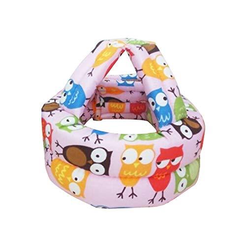Sicherheitshelm für Kleinkinder, Baby-Mütze, Helme zum Laufen lernen, Schutzhelm für Babys, weich, bequem, Größe S (42–58 cm)