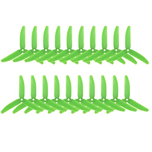 Goolsky 10 Support pairs 3 Propeller Triblade 5040 GEPRC 5 shovels for FPV Racing Quadcopter QAV210 250 Drone blades